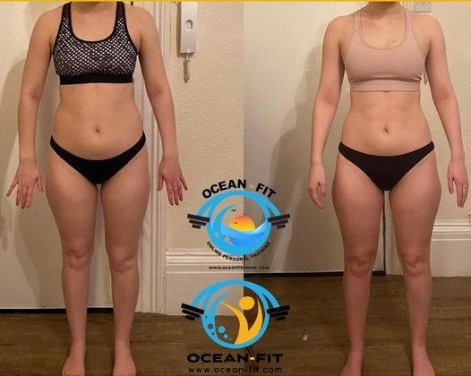 Hannah 1:1 remote personal training client