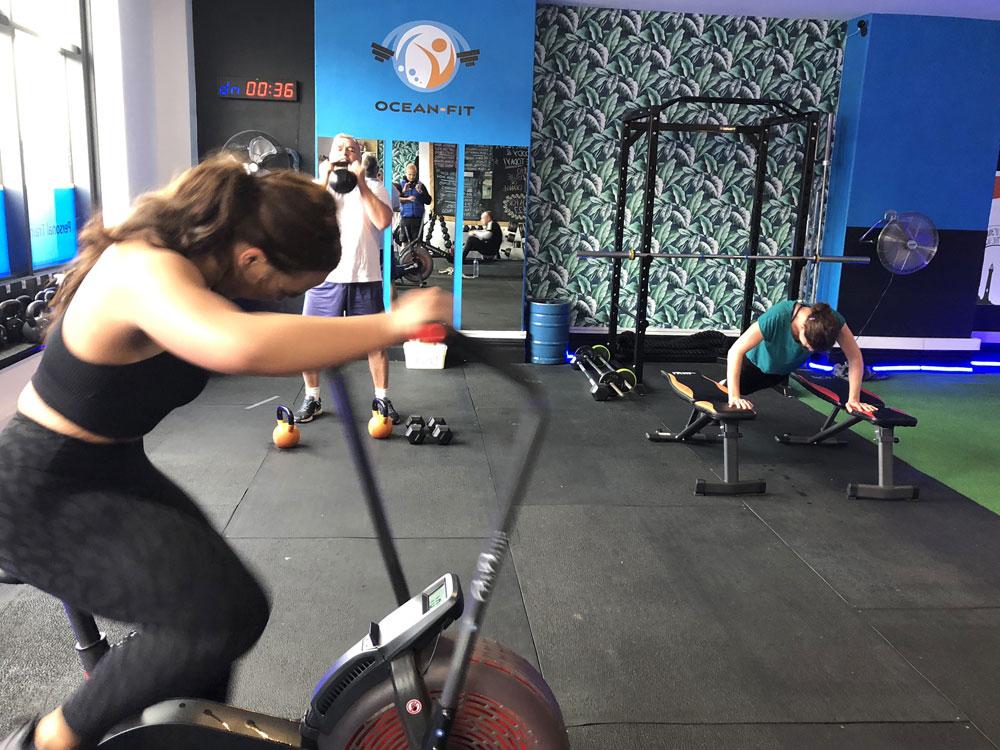 Ocean Fit Group Training